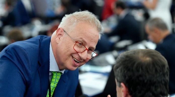 Trócsányi László, a Fidesz-KDNP képviselője az Európai Parlamentben (Fotó: MTI/Koszticsák Szilárd)