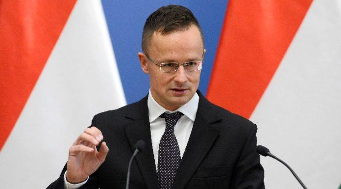 Szijjártó Péter külgazdasági és külügyminiszter (Fotó: MTI/Kovács Tamás)