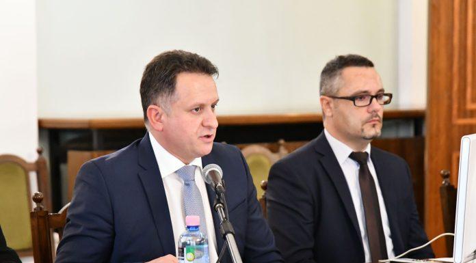 Hubai Imre, a Jász-Nagykun-Szolnok Megyei Közgyűlés új elnöke. (Fotó: Megyeháza)