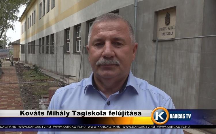 Kováts Mihály Tagiskola felújítása – videó