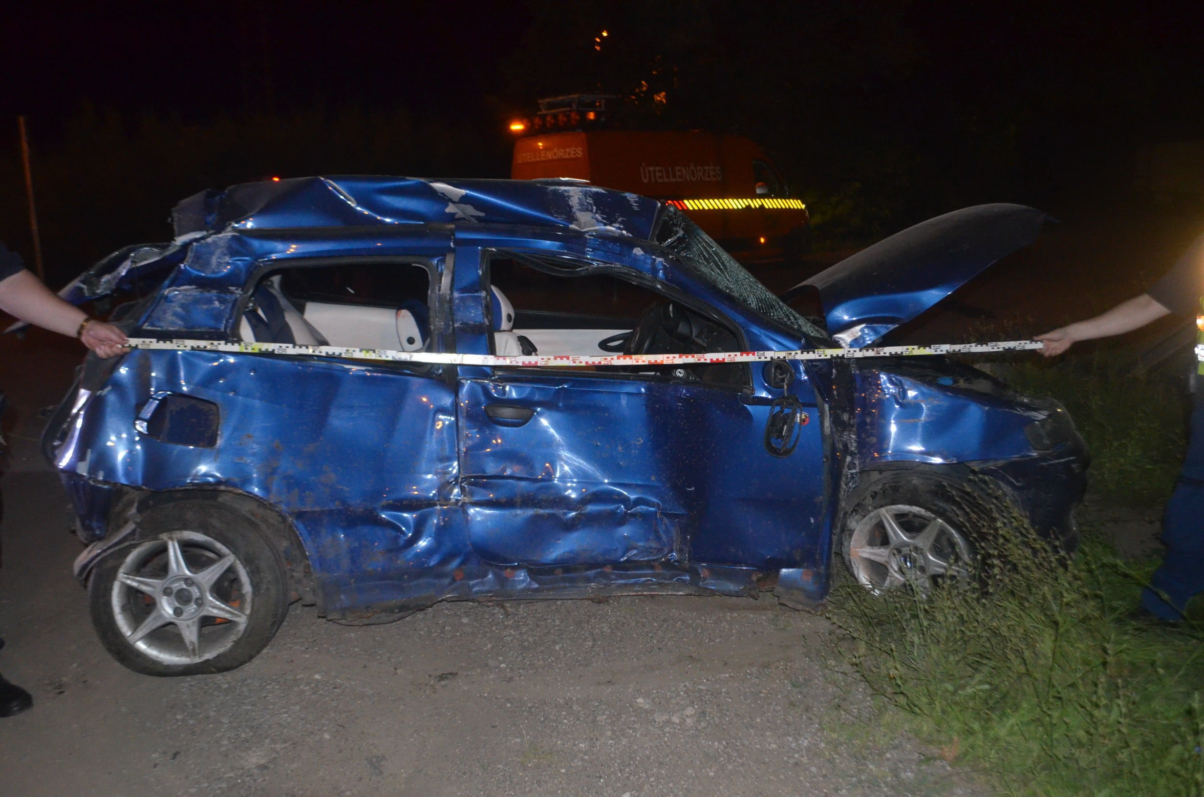 Életveszélyes sérüléssel járó baleset történt Karcagon
