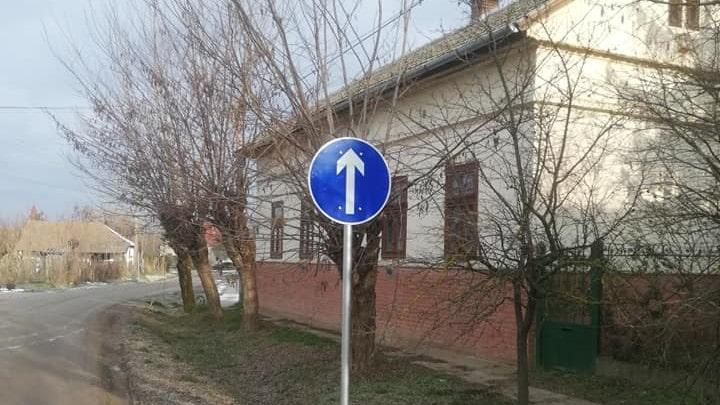 Változott a forgalmi rend Tiszaderzsen