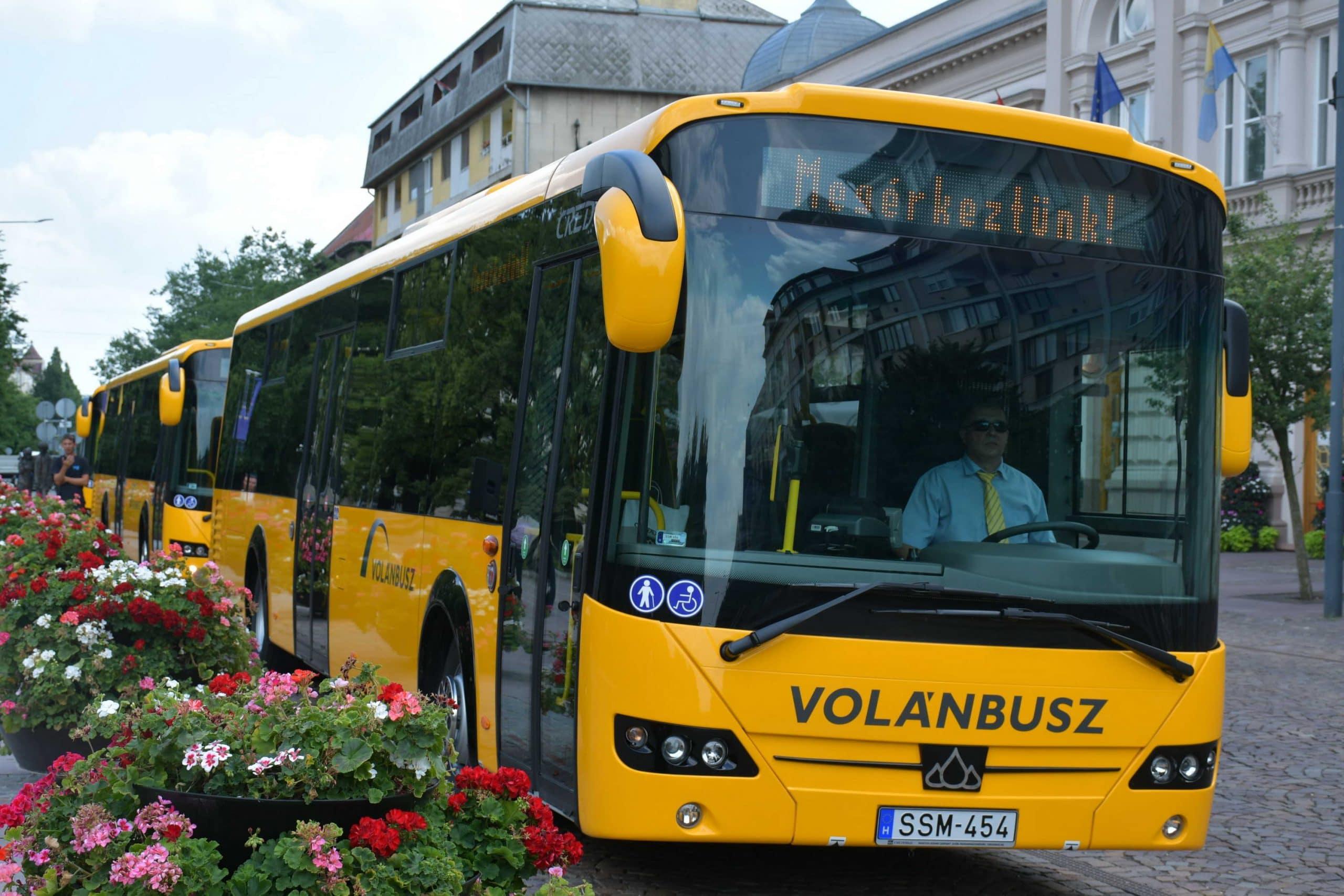 [GALÉRIA] Új buszok segítik a megye közlekedését