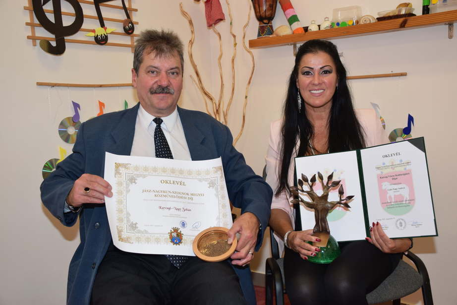 Megyei elismerést kapott Karcagi-Nagy Zoltán